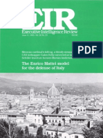 The Enrico Mattei model for the defense of Italy