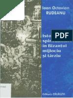 Ioan Octavian Rudeanu -Istorie si Spiritualitate in Bizant