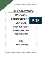 Administracion Ensayo
