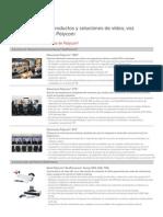 Tecnosmart Autecno Telepresencia Videoconferencia Polycom Solution Portafolio Espanol