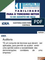 Auditoria Ferramenta de Controle_2012