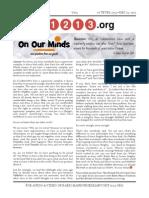 11213.org Issue 5 - 16 Teves 5774