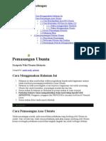 Pemasangan Ubuntu