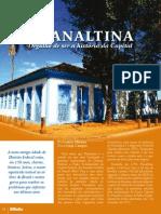 Entrevista do deputado Cláudio Abrantes a revista Plano Brasília