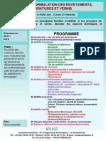 Formation Continue Additifs Et Formulation Des Revetements Peintures Et Vernis