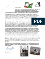 WCH Christmas Letter 2013