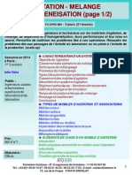 Formation Continue Agitation Melange Broyage Dispersion Homogeneisation