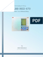 Understanding and Testing the ABB RED670 Distanc-Line Differential Relay