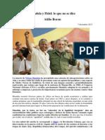Atilio Boron-Mandela y Fidel, Lo Que No Se Dice-2013