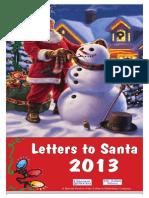Santa Letters 2013