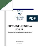 California Common Cause - Gift Report 2012