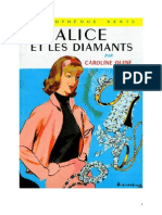Caroline Quine Alice Roy 04 BV Alice Et Les Diamants 1930