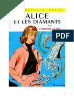 Caroline Quine Alice Roy 04 BV Alice Et Les Diamants 1930