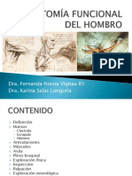 5. ANATOMÍA FUNCIONAL DEL HOMBRO
