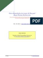 Panduan Register Paypal Indonesia