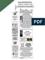 December 22 2013 Newsletter