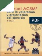 Valoración y prescripción de la actividad física y ejercicio