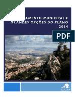 Proposta de Orçamento Municipal de Sintra e Grandes Opções do Plano para 2014