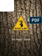2013 Nature Blinds Product Catalog