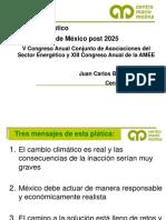 Cambio Climático Post 2025