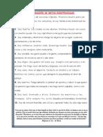 DECLARACIÓN DE METAS EXISTENCIALES