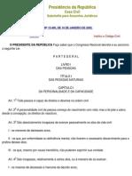 Código civil de 2002