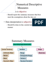 Chapter 3, Summary Measures.ppt