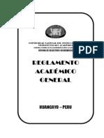 Reglamento Academico General - 2013