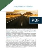 Artigo - Ranking Mundial de Carreteras 2011-2012