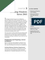 Installing Microsoft Windows Server 2003