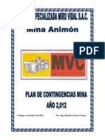 Plan de Contingencia MVC