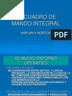 El Cuadro de Mando Integral1