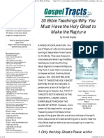 30 Bible Teachings Why You Must Have the Holy Ghost to Make the Rapture - Ernest Angley Ministries