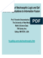 Foundations of Neutrosophic Logic and Set and their Applications to Information Fusion
