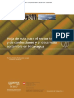 2010 02 Hoja de Ruta Para El Sector Textil y de Confecciones y El Desarrollo Sostenible en Nicaragua