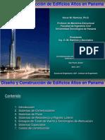 Ingeniería - Diseño y Construcción de Edificios Altos en Panamá - Oscar M. Ramirez - 2011