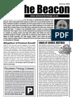 The Beacon Newsletter - Summer 2009