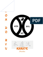 Karate Hon-Do-Ryu Syllabus 6-1Kyu