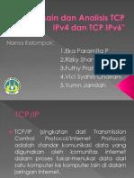 Desain Dan Analisis TCP IPv4 Dan TCP