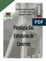 Patologia de Conreto
