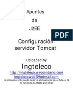 Configuracion Tomcat