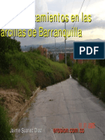 154-Deslizamientos en Las Arcillas de Barranquilla