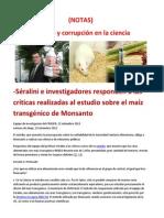 Séralini e investigadores responden a las críticas realizadas al estudio sobre el maíz transgénico de Monsanto.docx