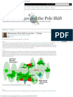 Determine Your Safe Locations - 7 Steps - Earth Changes and the Pole Shift 2012