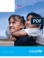 Informe Anual 2008. UNICEF 2008