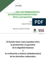 Presentación Consumo Problemático de Sustancias Psicoactivas; Retos y Perspectivas
