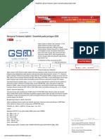 Pengertian, Apa Itu Frekuensi Uplink _ Downlink Pada Jaringan GSM