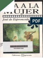 Espronceda, José de - Oda a la mujer