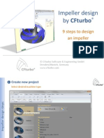 Impeller Design using CFTurbo