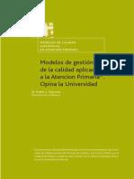 Modelos de La Gestion de Calidad (2005)